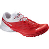 Salomon S-Lab Sense 5 Ultra Shoes Racing Red/White/Red